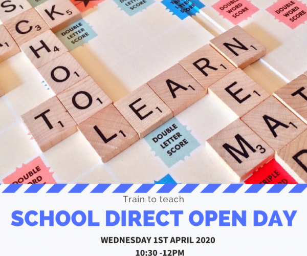 School direct open day